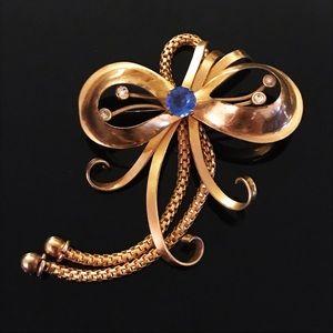 ✨Signed REGEL 12kgf Beautiful Antique Brooch